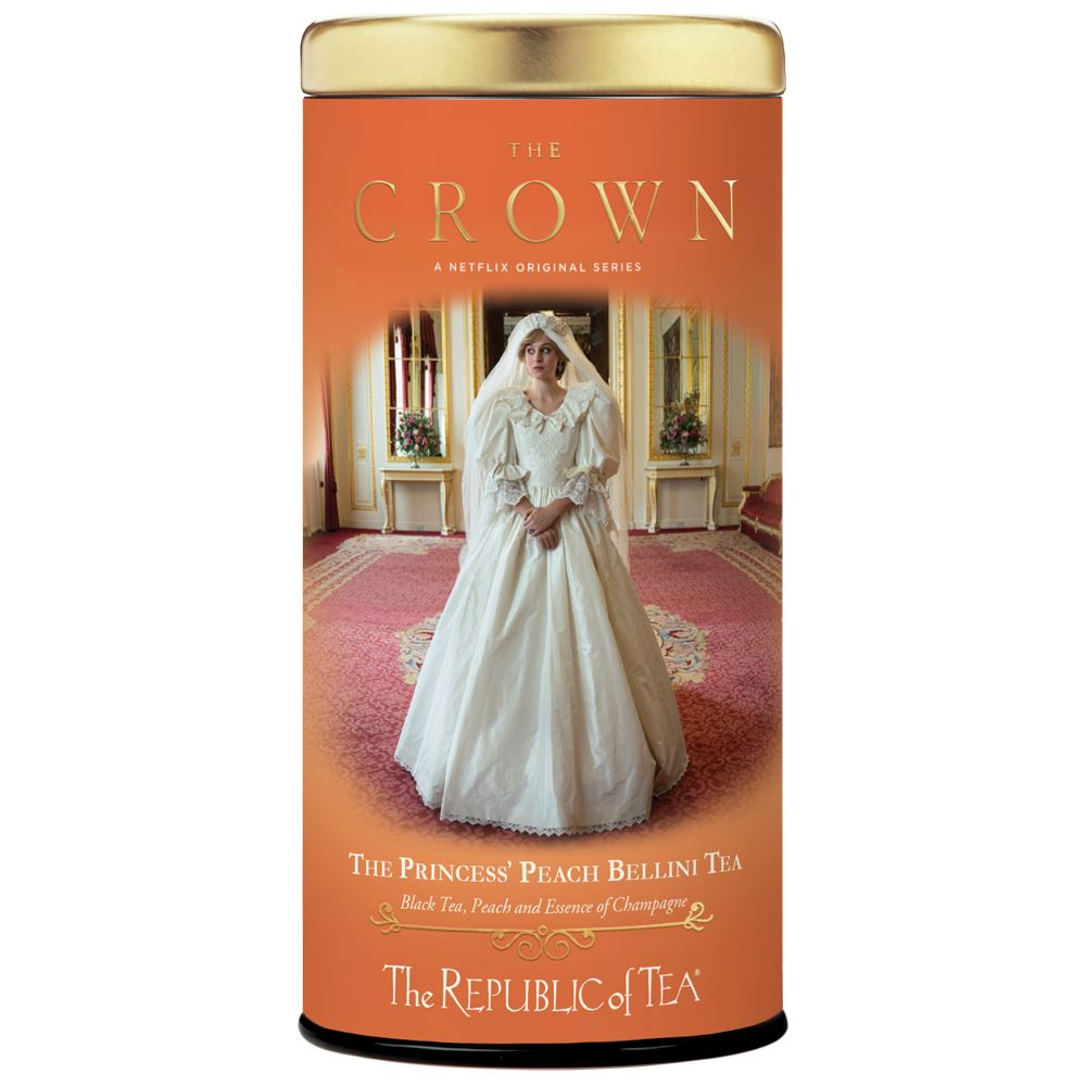 The Crown: The Princess' Peach Bellini Tea