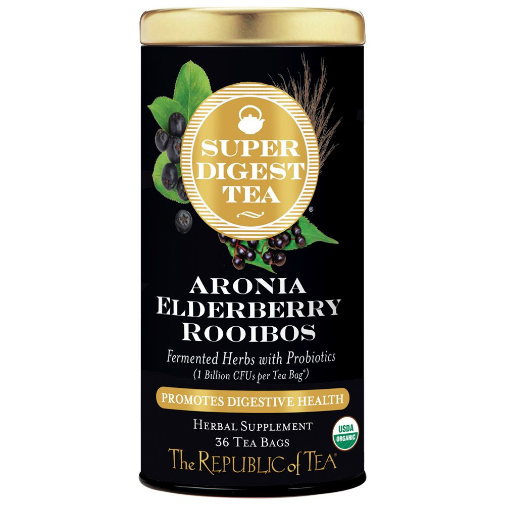 Aronia Elderberry Rooibos SuperDigest Tea®