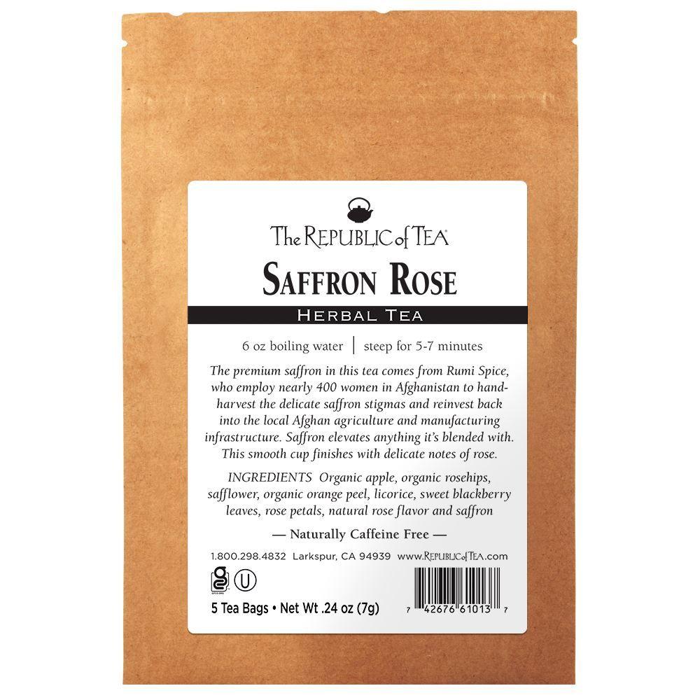 Saffron Rose - 5 Tea Bag Sample