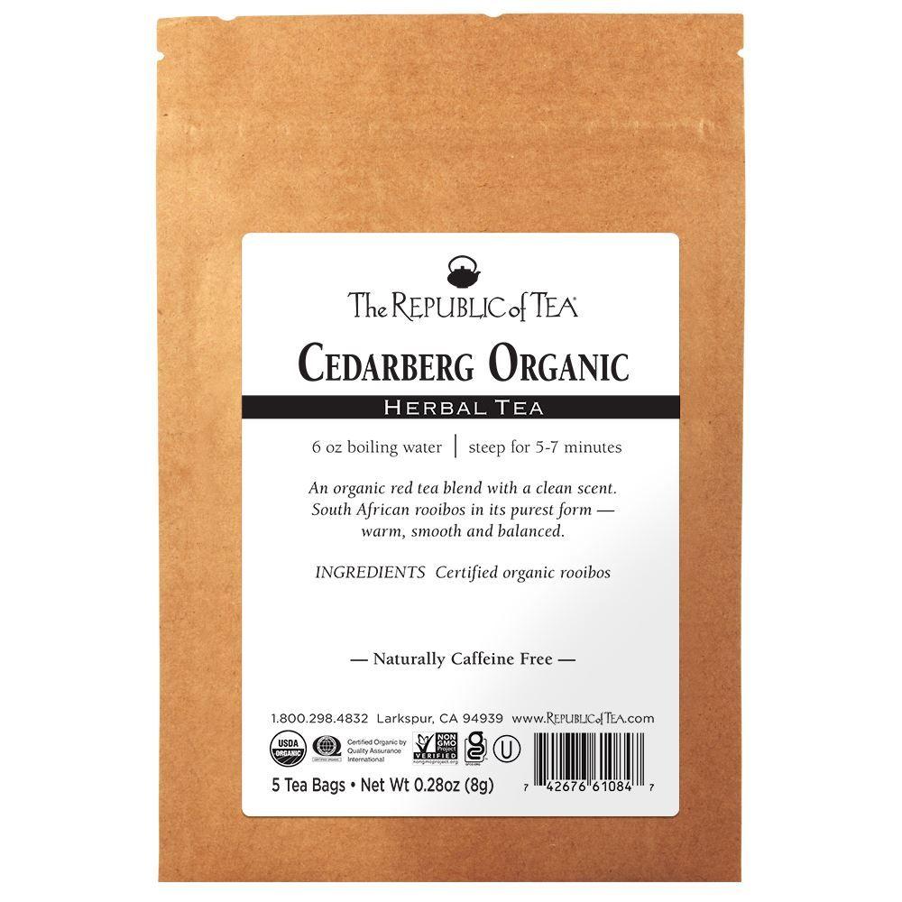 Cedarberg Organic Red Tea - 5 Tea Bag Sample