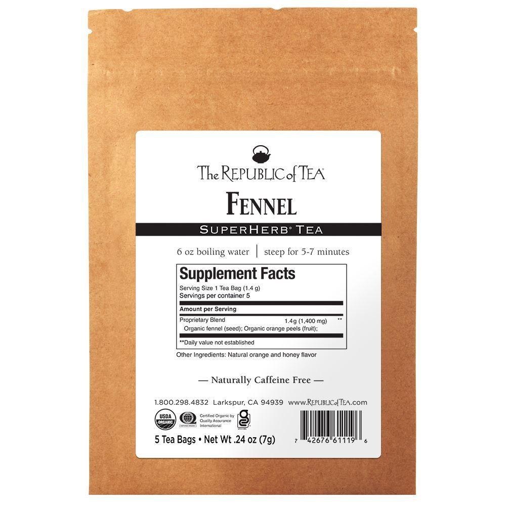 SuperHerb® Fennel - 5 Tea Bag Sample