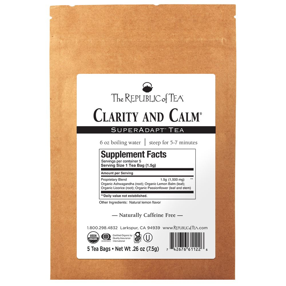 SuperAdapt™ Clarity and Calm - 5 Tea Bag Sample