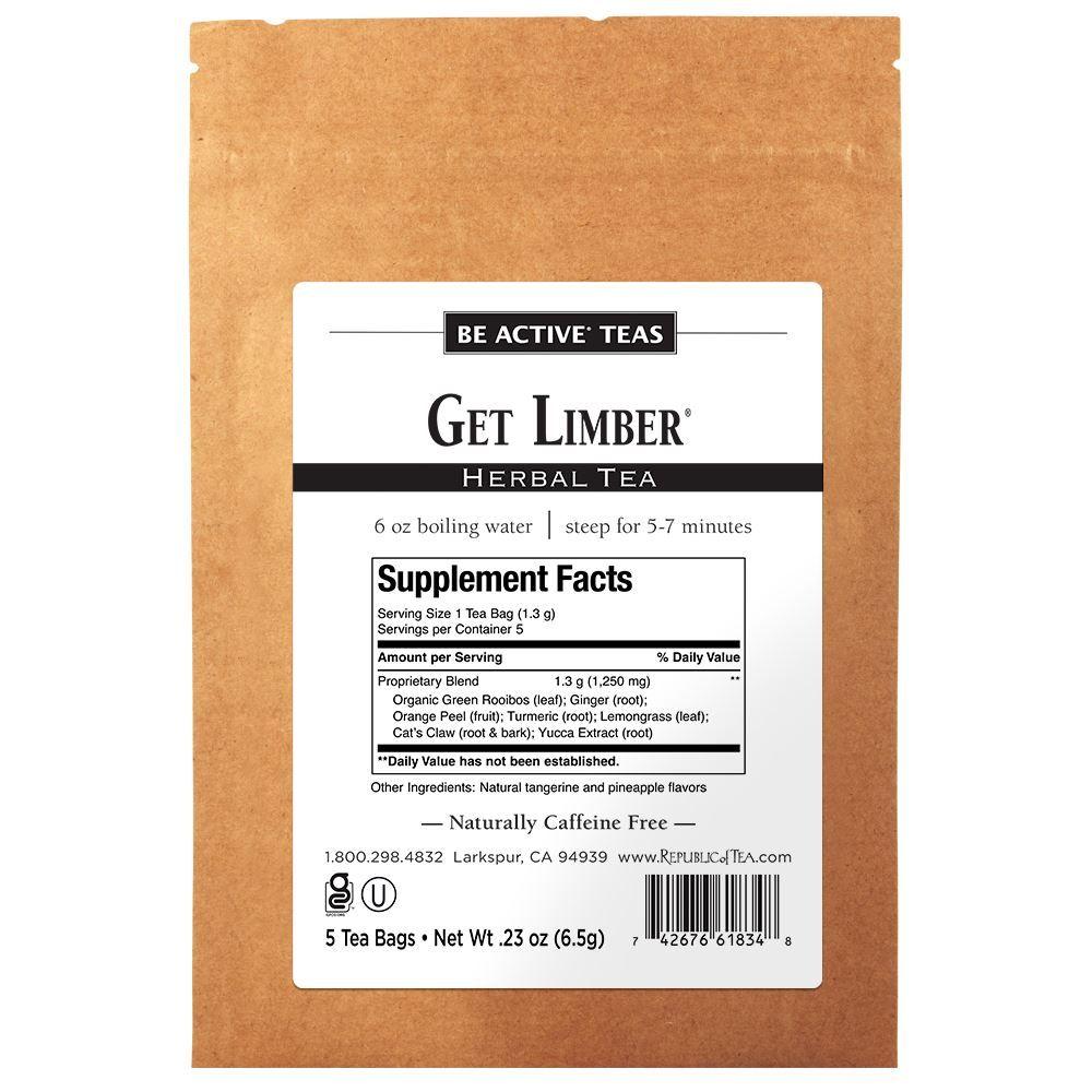 Get Limber® - 5 Tea Bag Sample