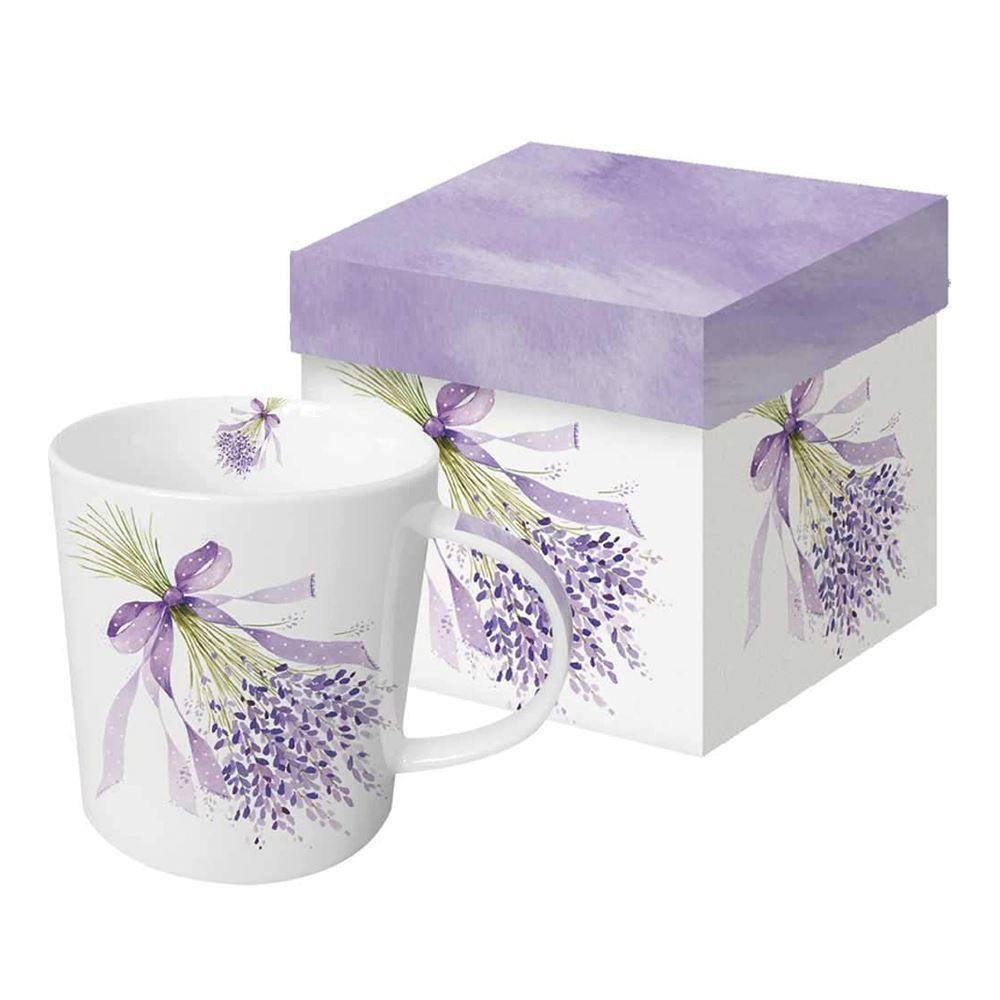 Bouquet of Lavender Boxed Mug