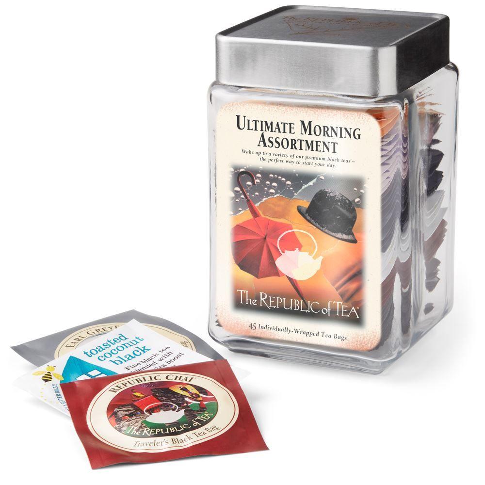 Ultimate Morning Tea Bag Assortment Jar