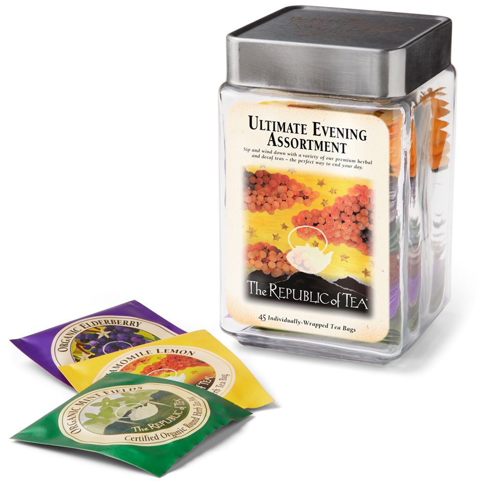 Ultimate Evening Tea Bag Assortment Jar