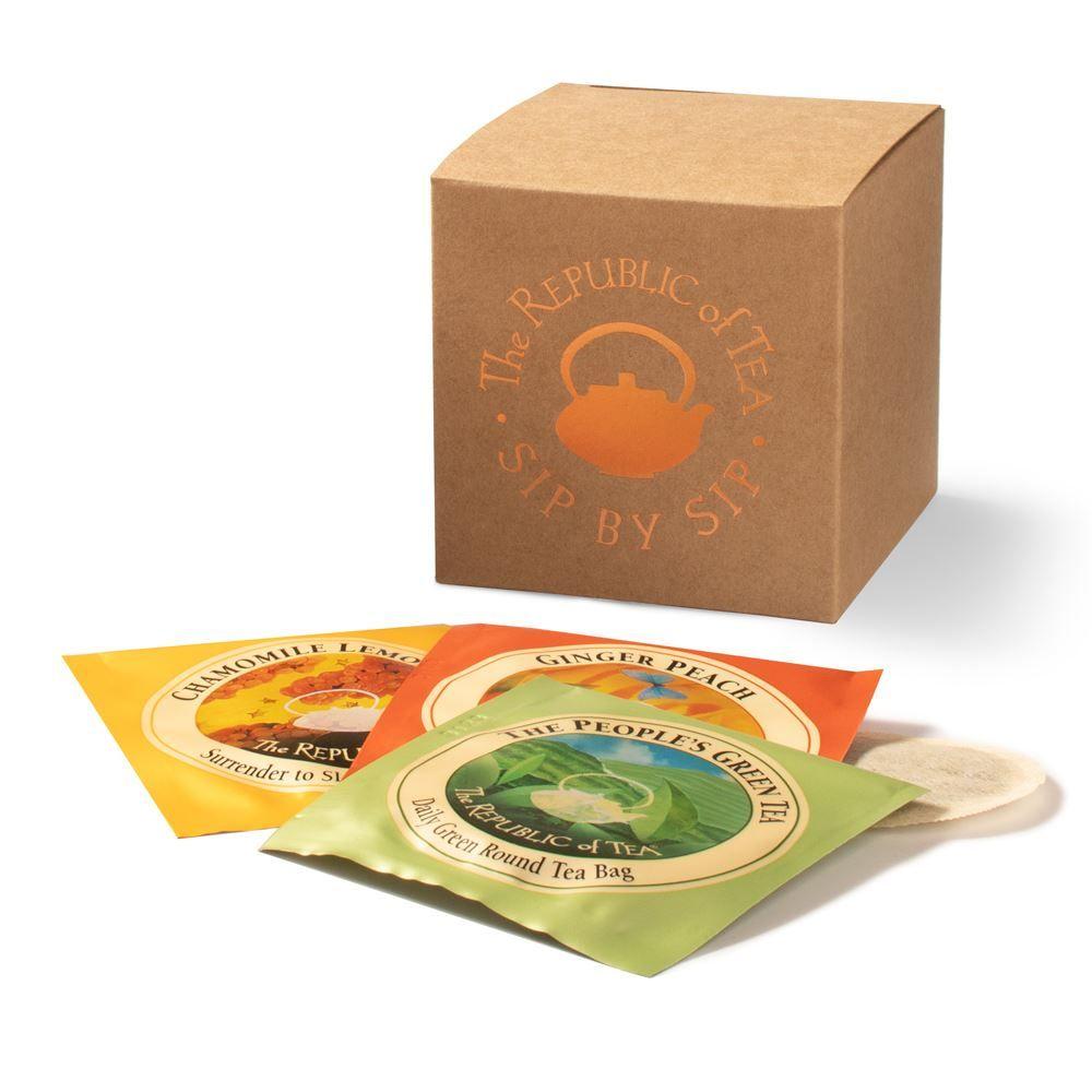 24 Count Custom Tea Bag Gift