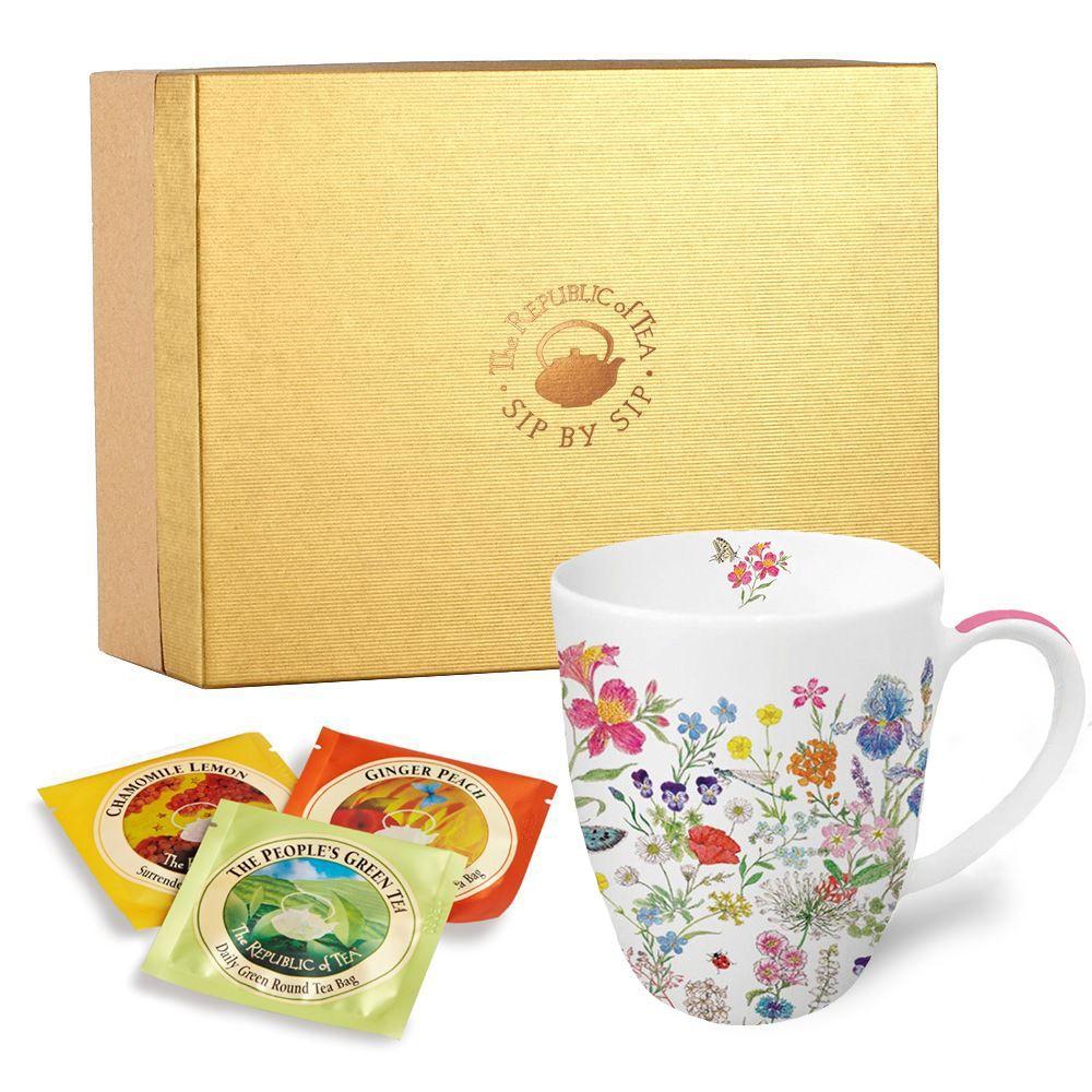 Custom Mug and 12 Count Tea Bag Gift