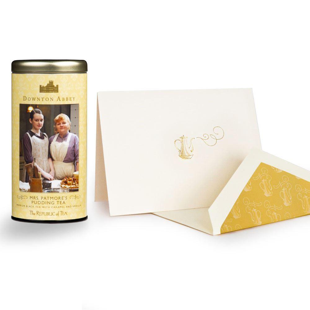 Downton Abbey® Custom Tea & Card Set Gift