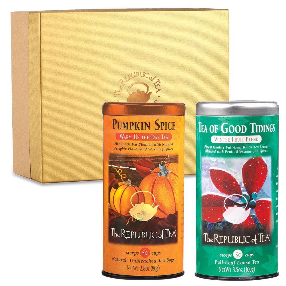 Custom Gift of Two Seasonal Teas