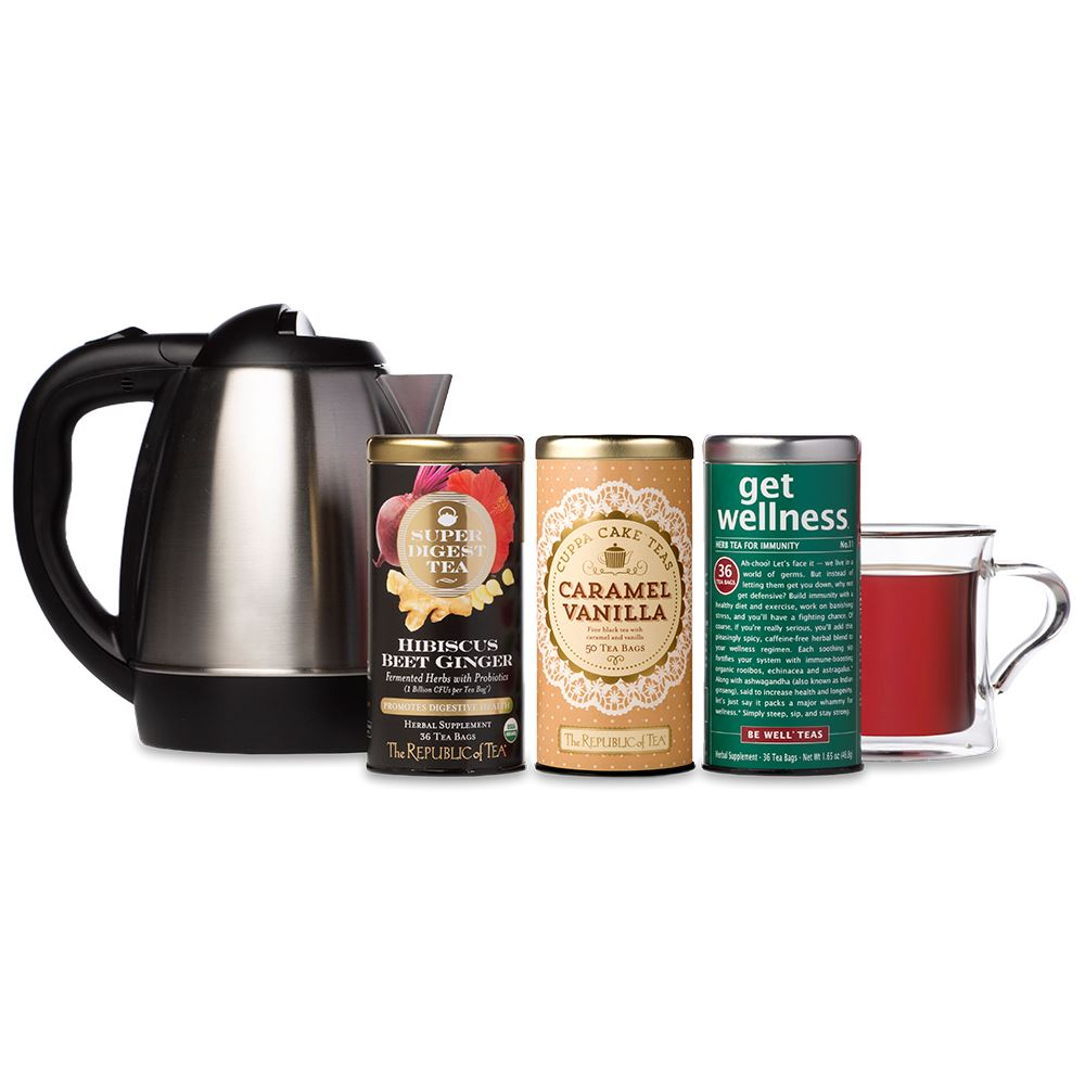 Work From Home Tea Kit