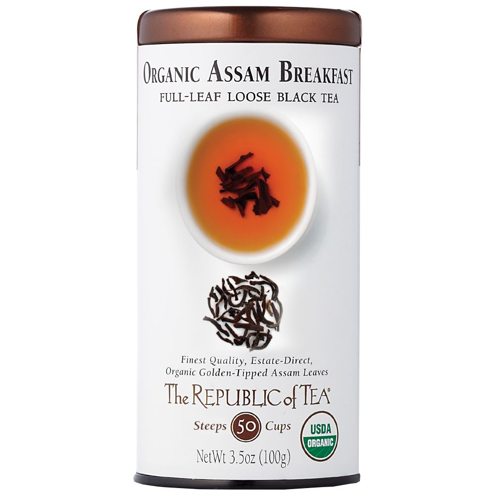Organic Assam Breakfast Black Full-Leaf