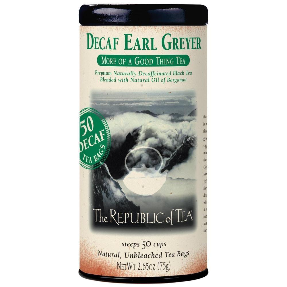 Decaf Earl Greyer Black Tea Bags