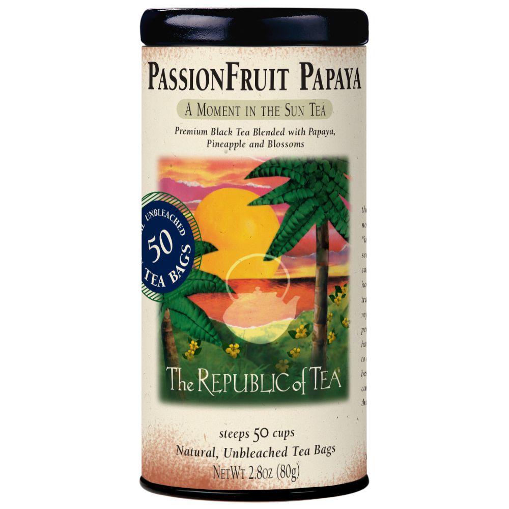 PassionFruit Papaya Black Tea Bags