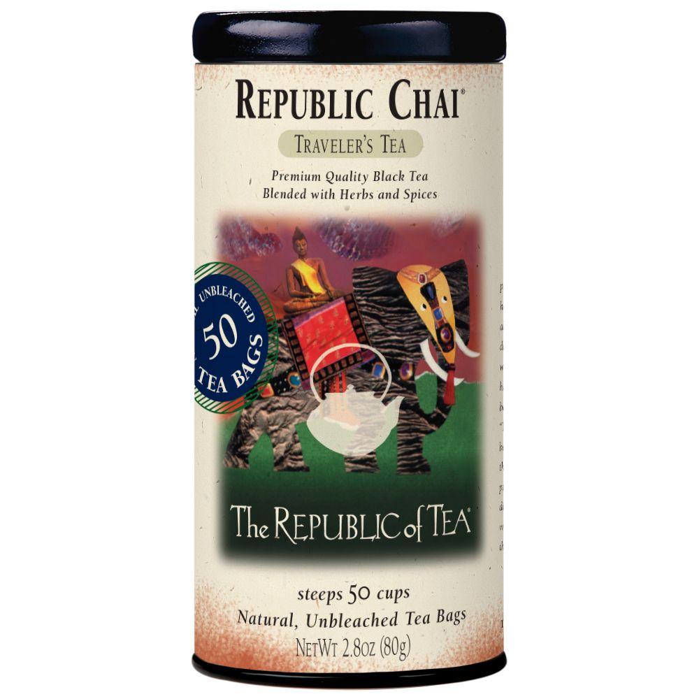 Republic Chai® Black Tea Bags