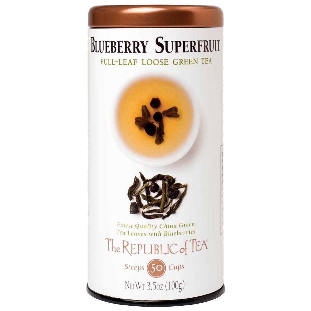 Blueberry Green Tea Full-Leaf