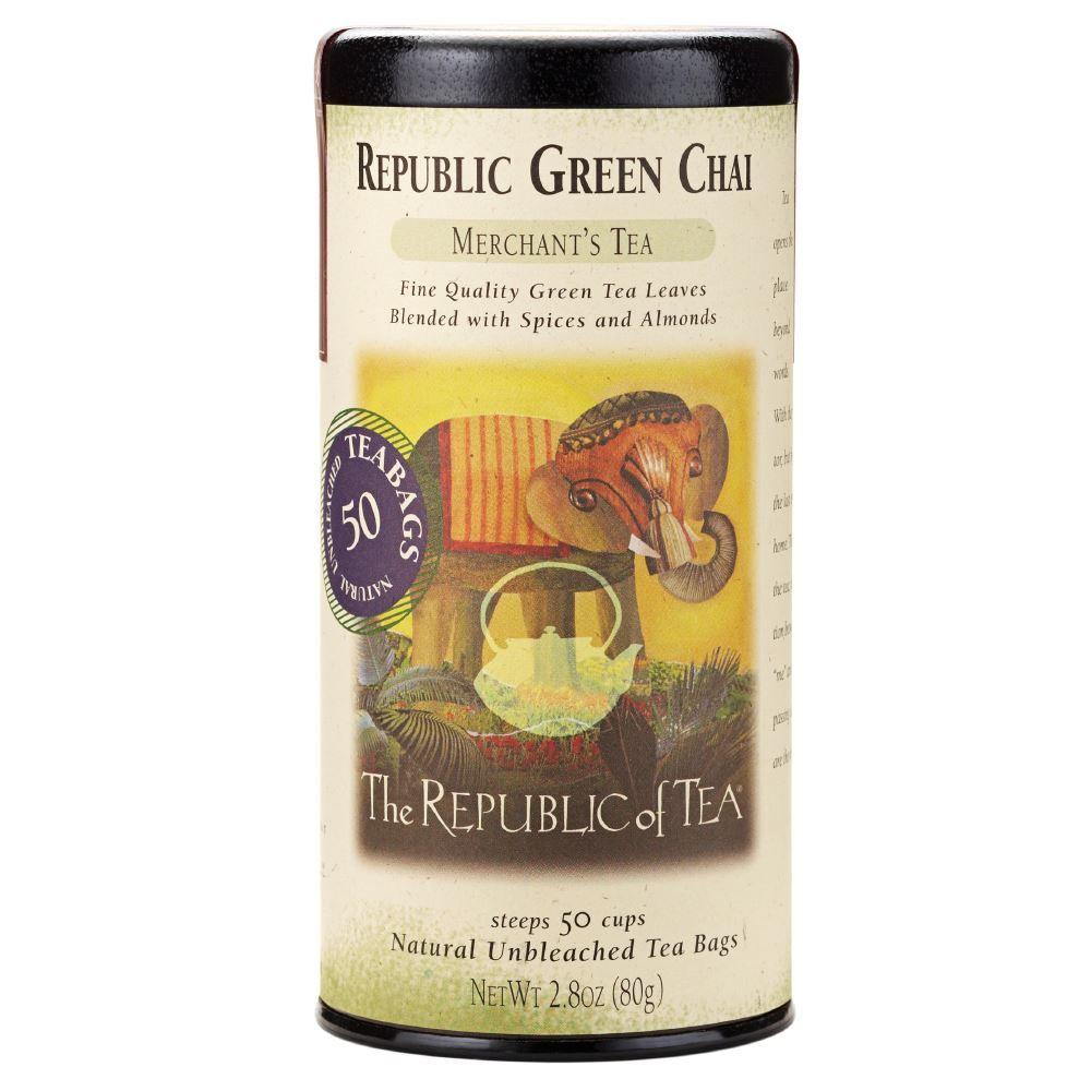 Republic Chai® Green Tea Bags