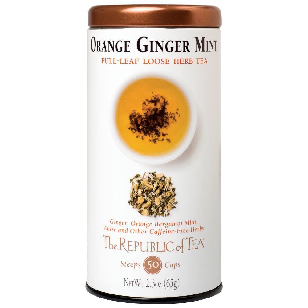 Orange Ginger Mint Herbal Full-Leaf