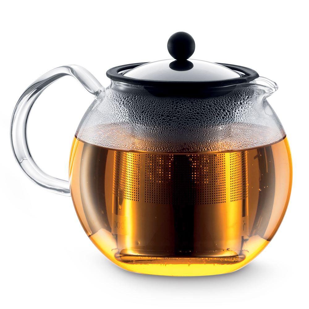 Assam Teapot - Glass Handle