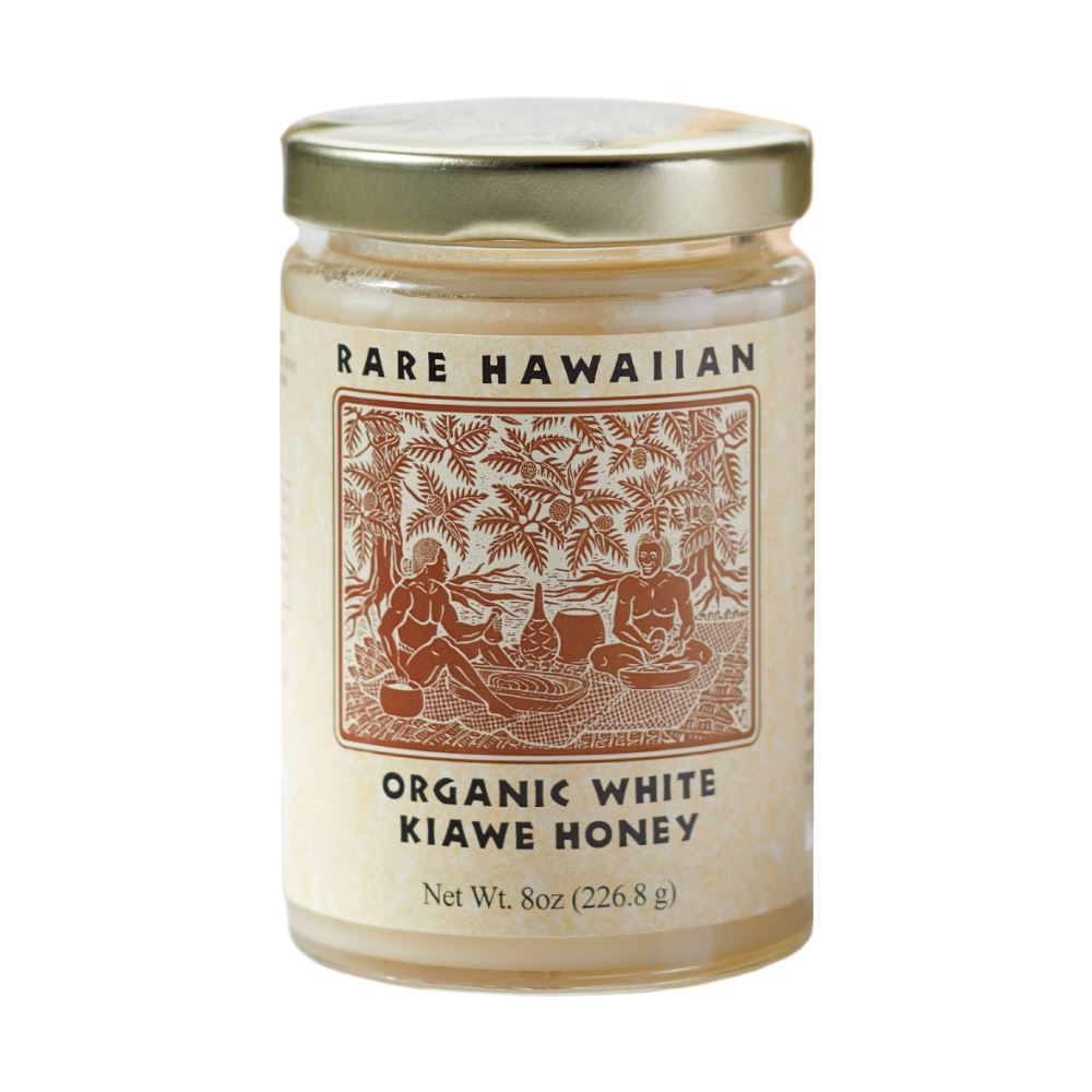 Rare Hawaiian Organic Kiawe White Honey