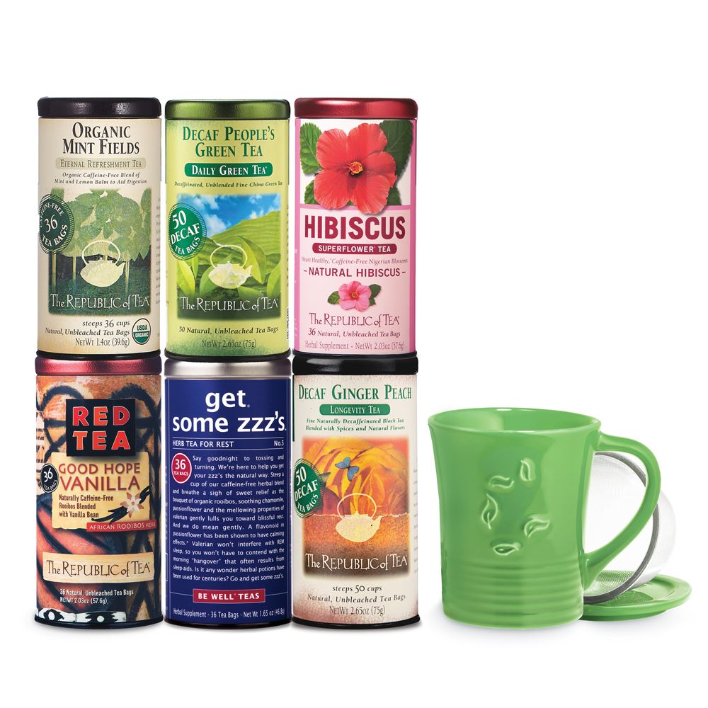 Caffeine-Free Decaf Tea of the Month