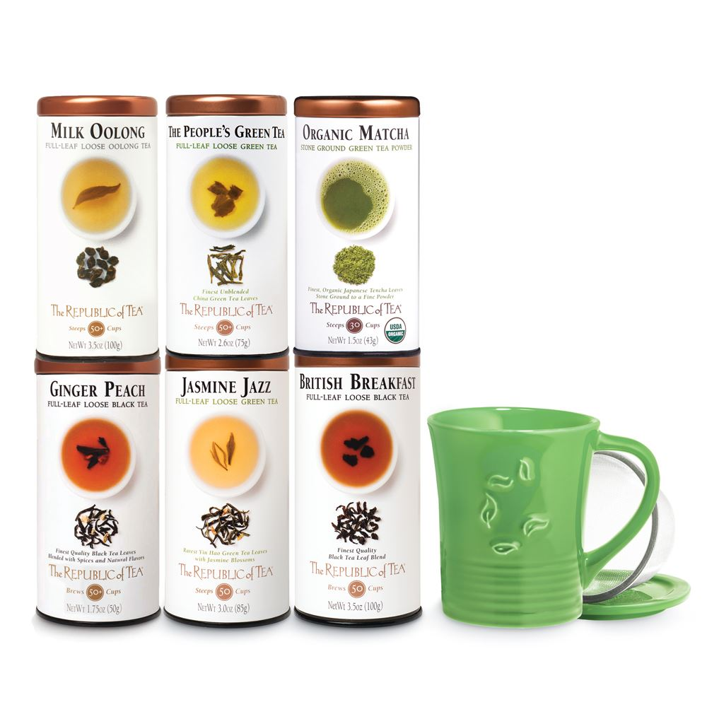 Full-Leaf Experience Tea of the Month