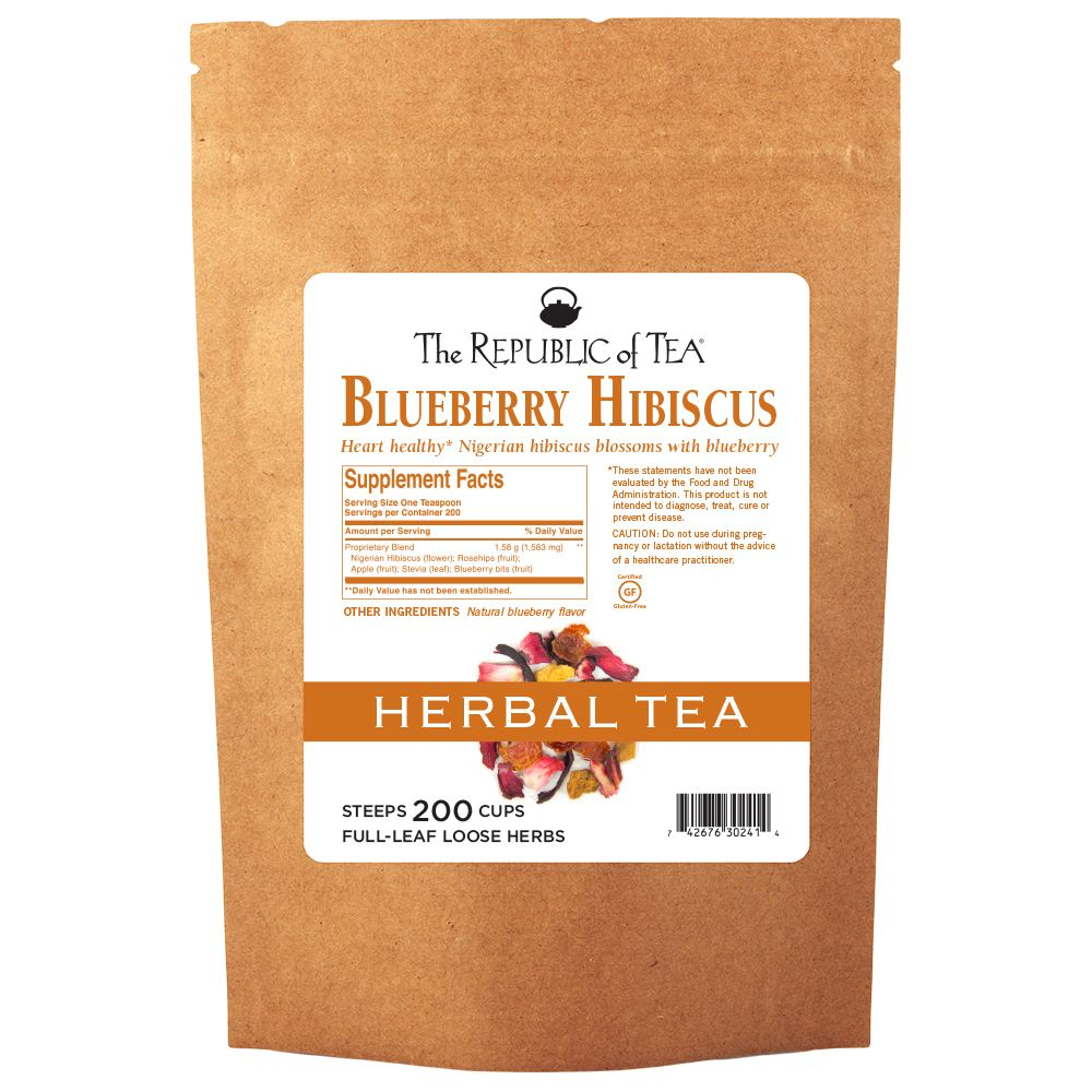 Hibiscus Blueberry Full-Leaf