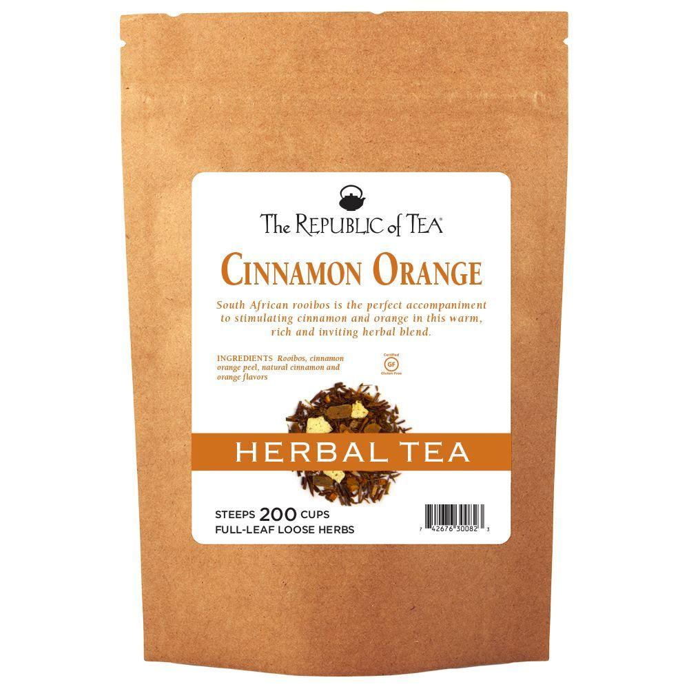 Cinnamon Orange Red Full-Leaf