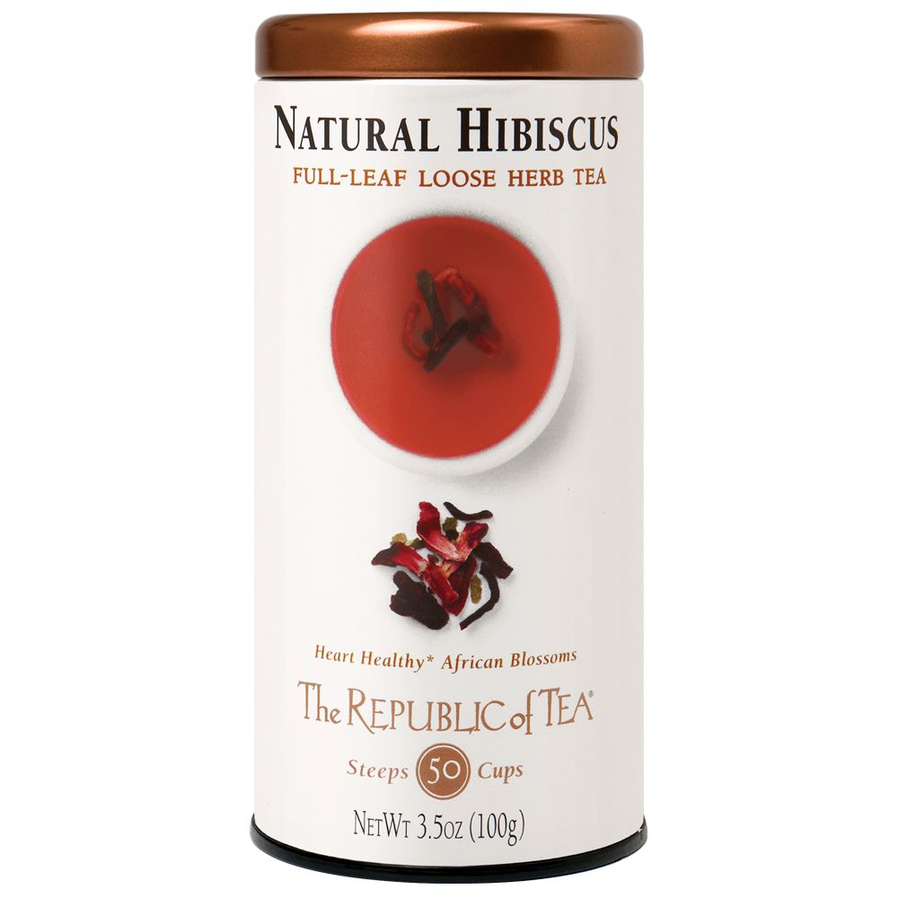 Natural Hibiscus Full-Leaf