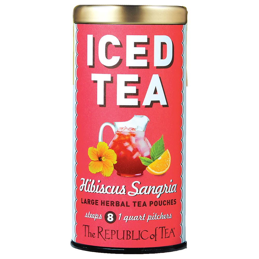 Hibiscus Sangria Large Iced Tea Pouches