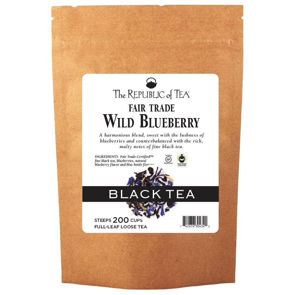 Wild Blueberry Black Full-Leaf