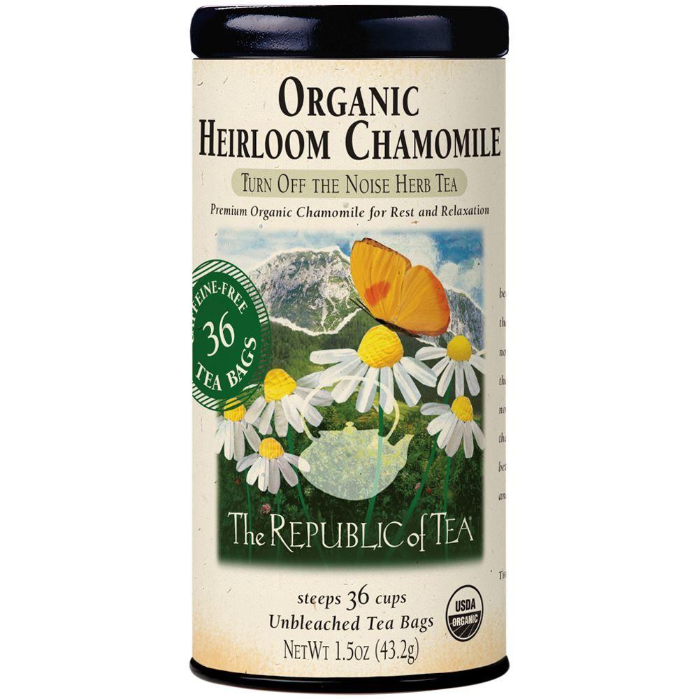 Organic Heirloom Chamomile Tea Bags