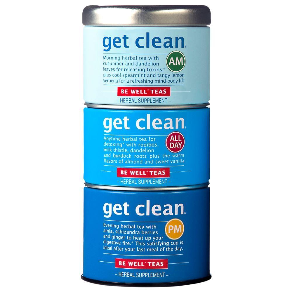 Get Clean® Stackable Tea Tin