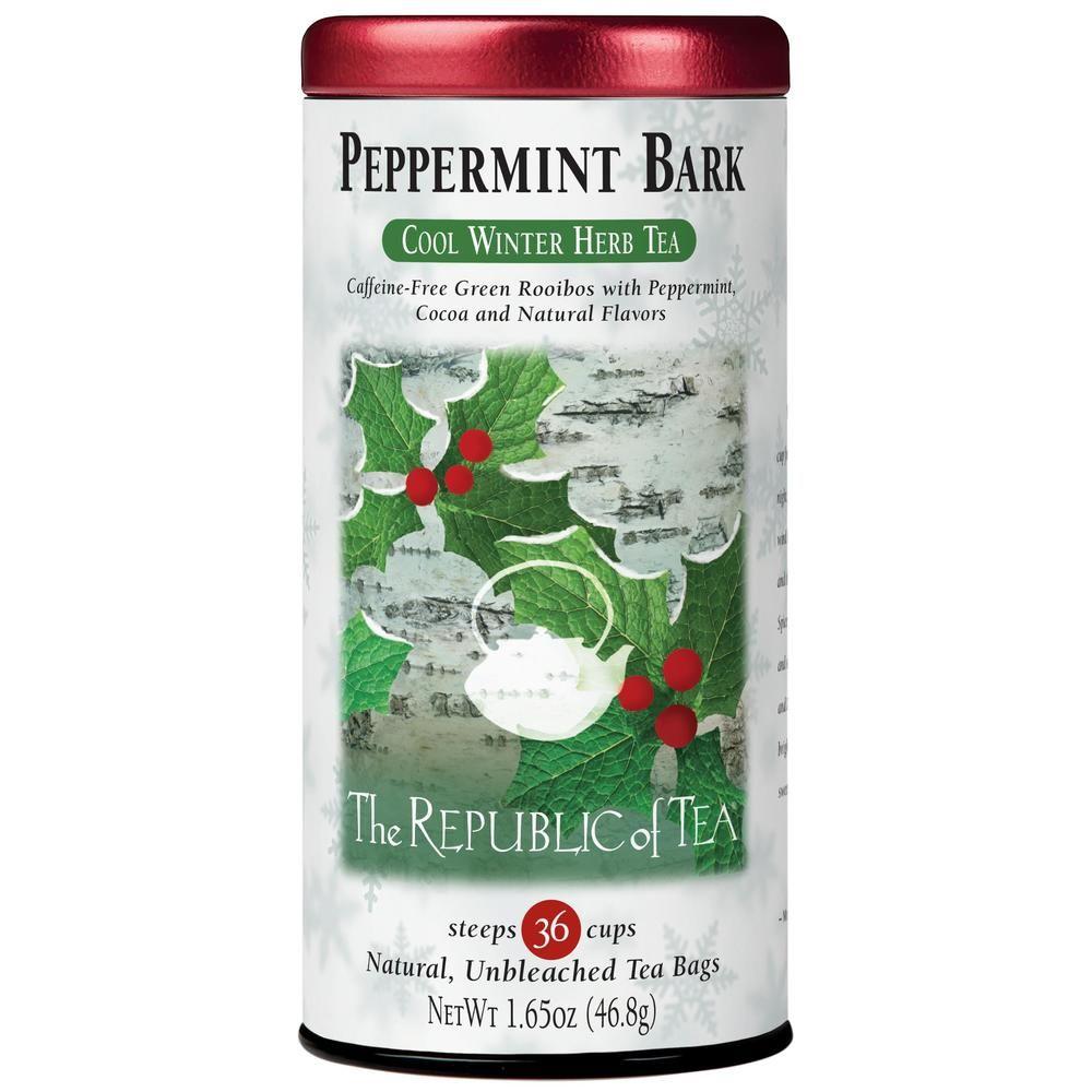 Organic Peppermint Bark Herb Tea Bags