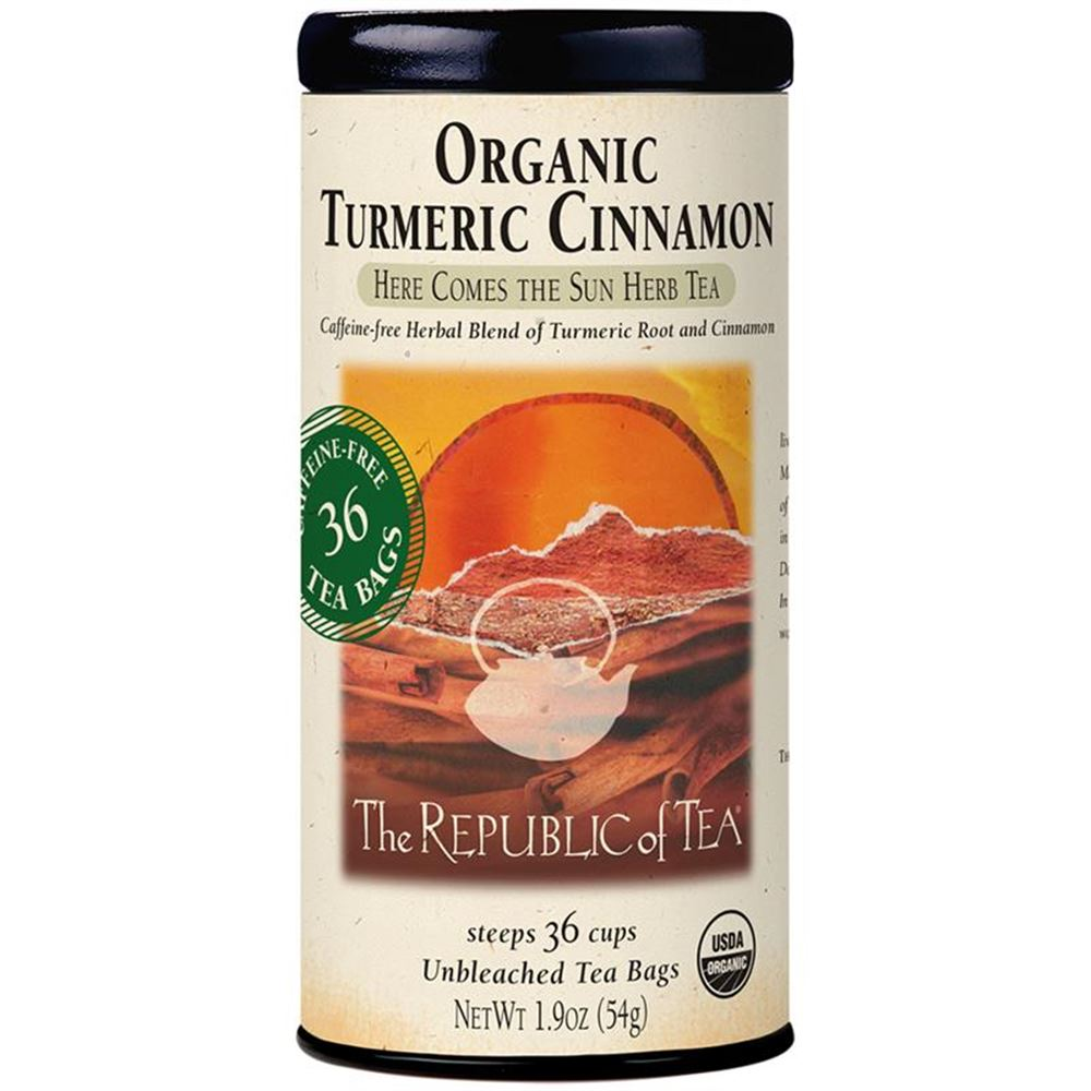 Organic Turmeric Cinnamon Tea