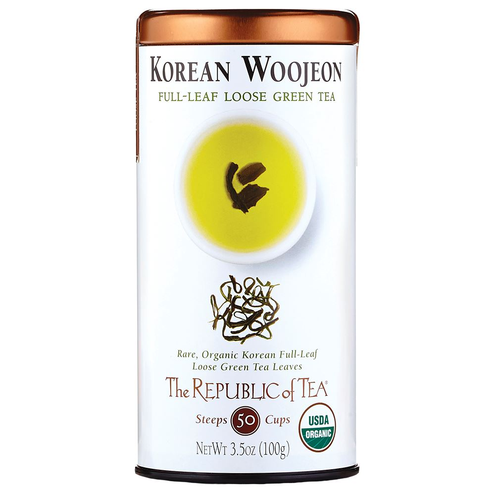Organic Korean Woojeon Green Full-Leaf