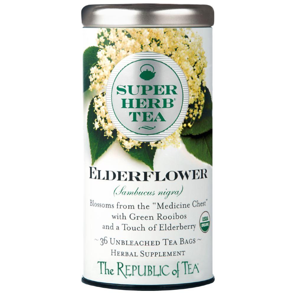 Organic Elderflower SuperHerb® Tea Bags