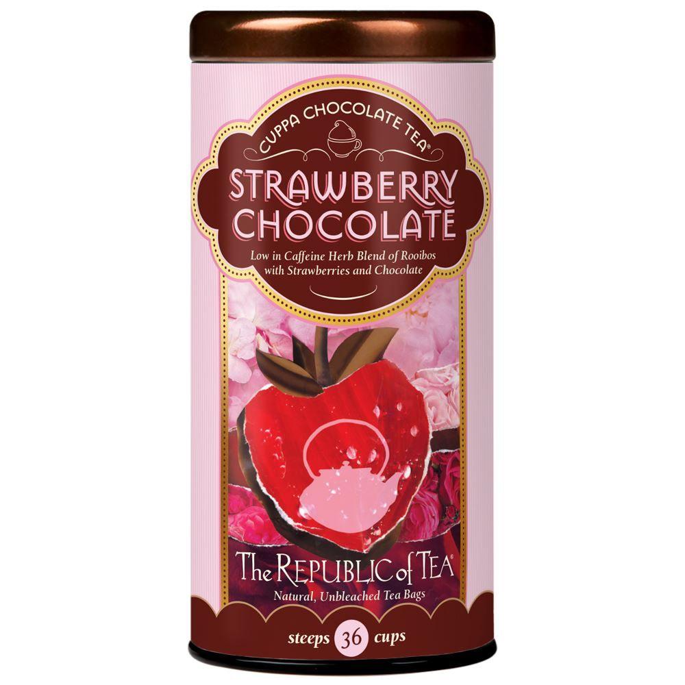 Strawberry Cuppa Chocolate Tea Bags
