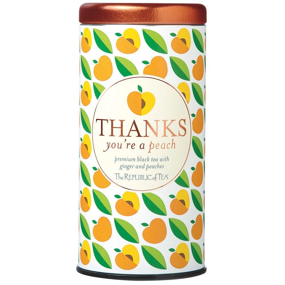 Thanks You're A Peach Gift Tea