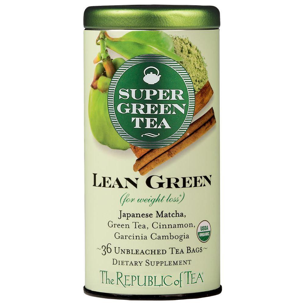 Organic Lean Green SuperGreen Tea Bags