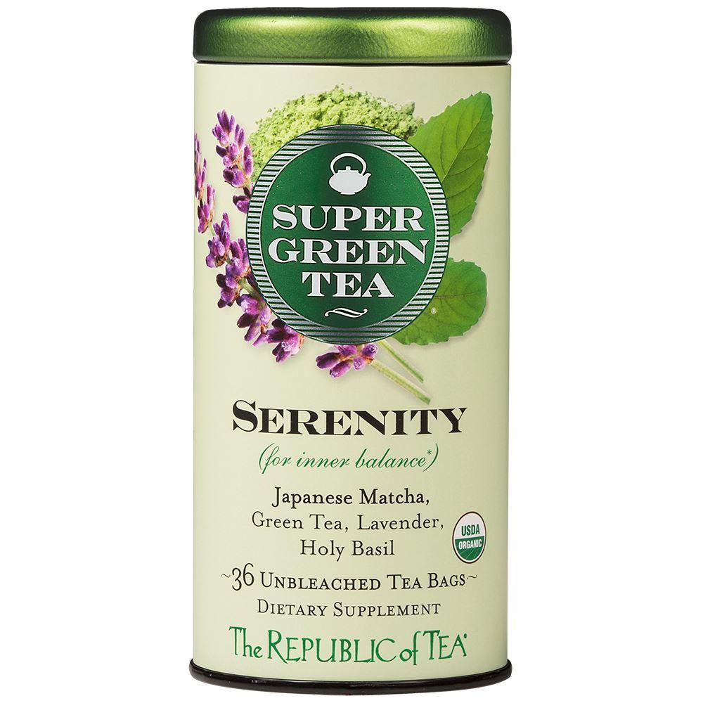 Organic Serenity SuperGreen Tea Bags