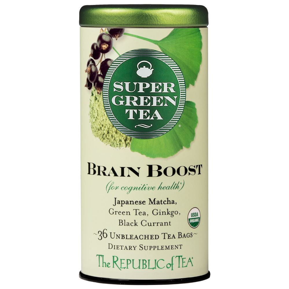 Organic Brain Boost SuperGreen Tea Bags
