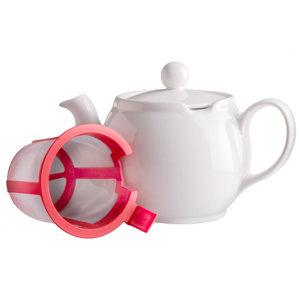 White Chatsford Teapot