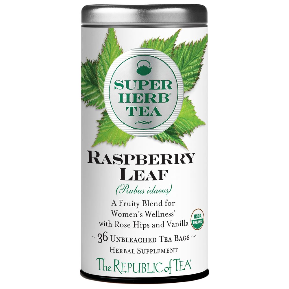 Organic Raspberry Leaf SuperHerb® Fruity Blend For Women's Wellness