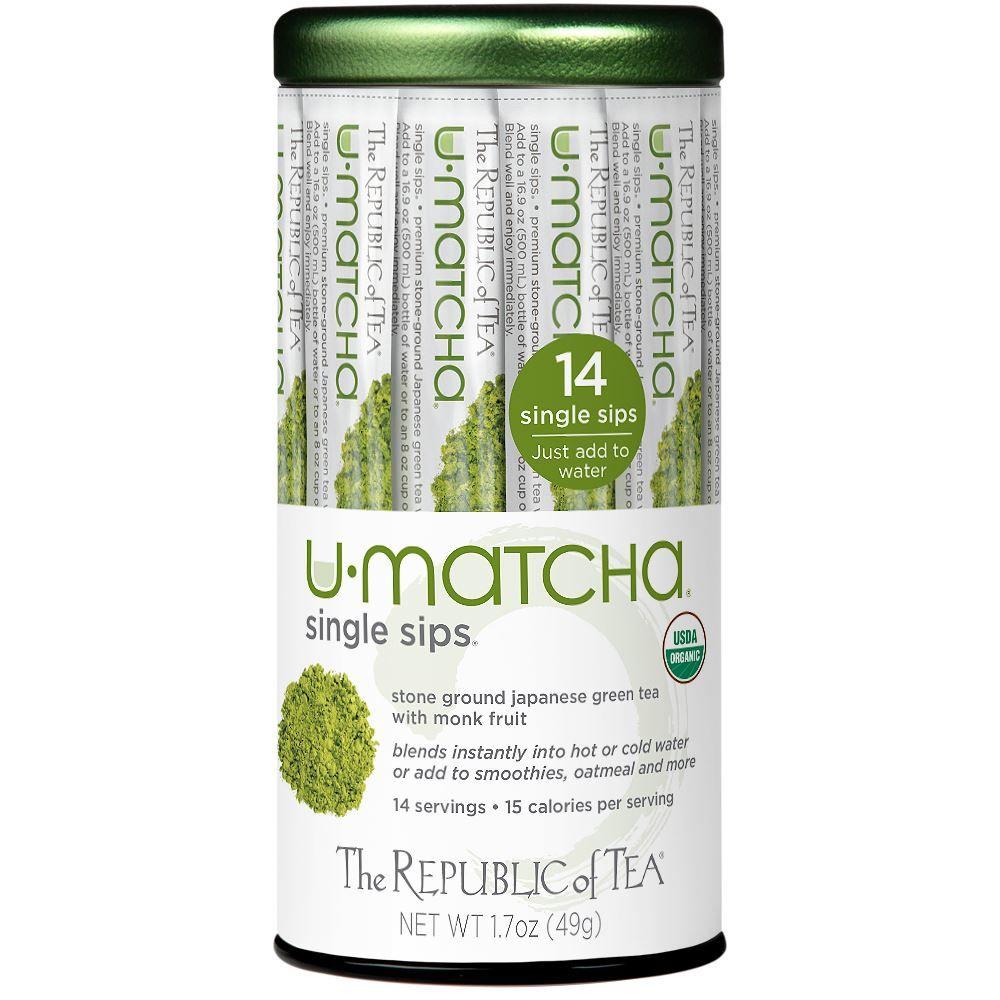 Organic U•Matcha® Single Sips®