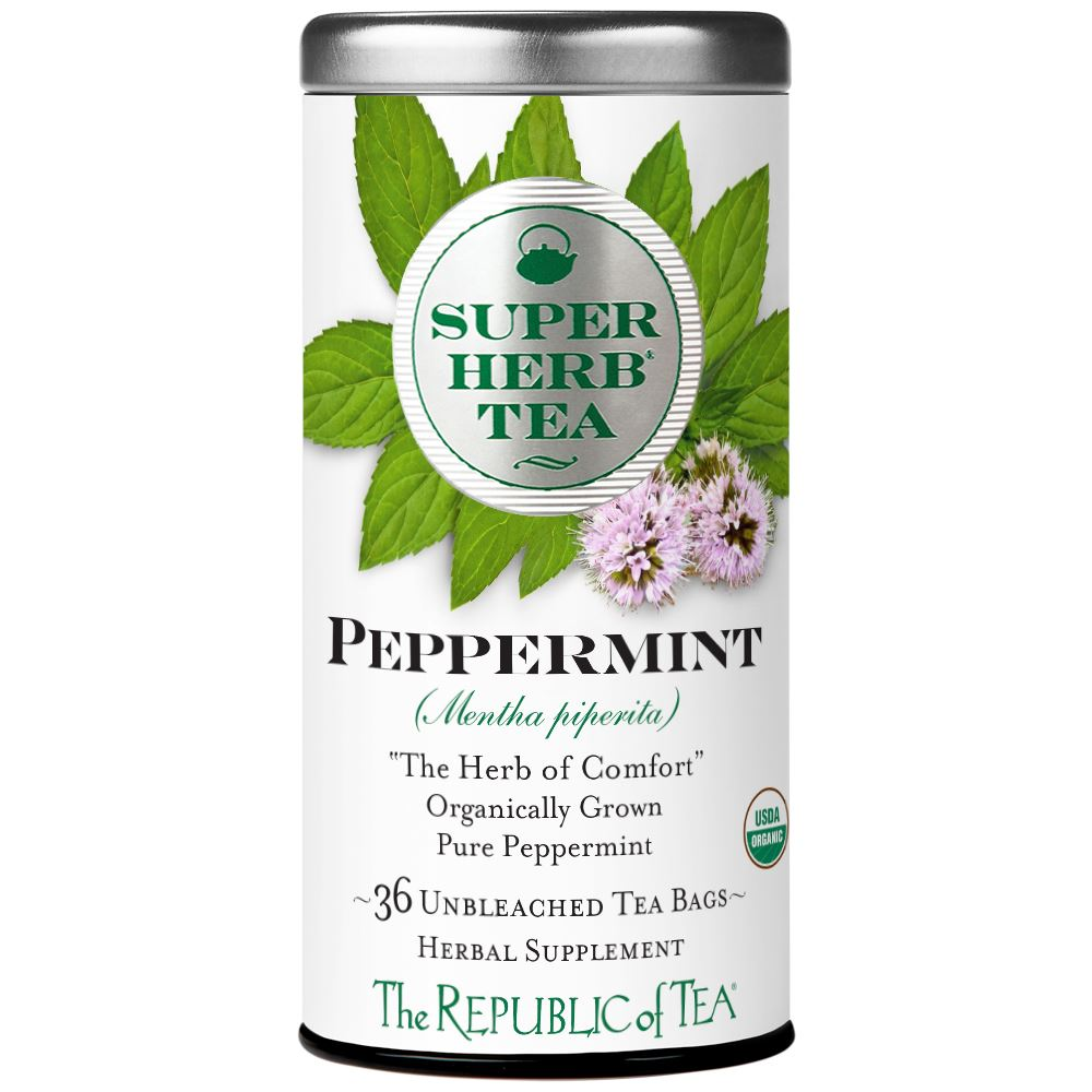 Organic Peppermint SuperHerb® Tea Bags