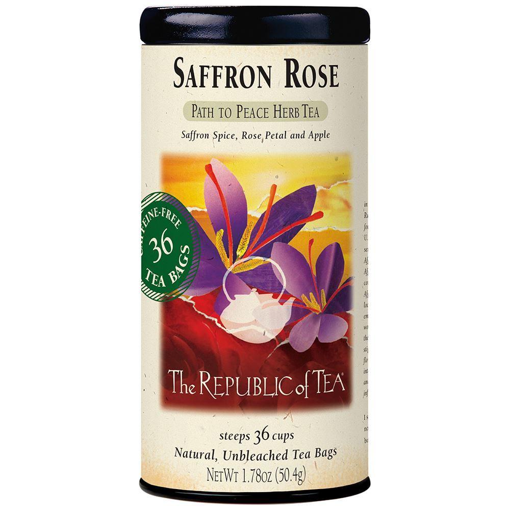 Saffron Rose Herbal Tea Bags