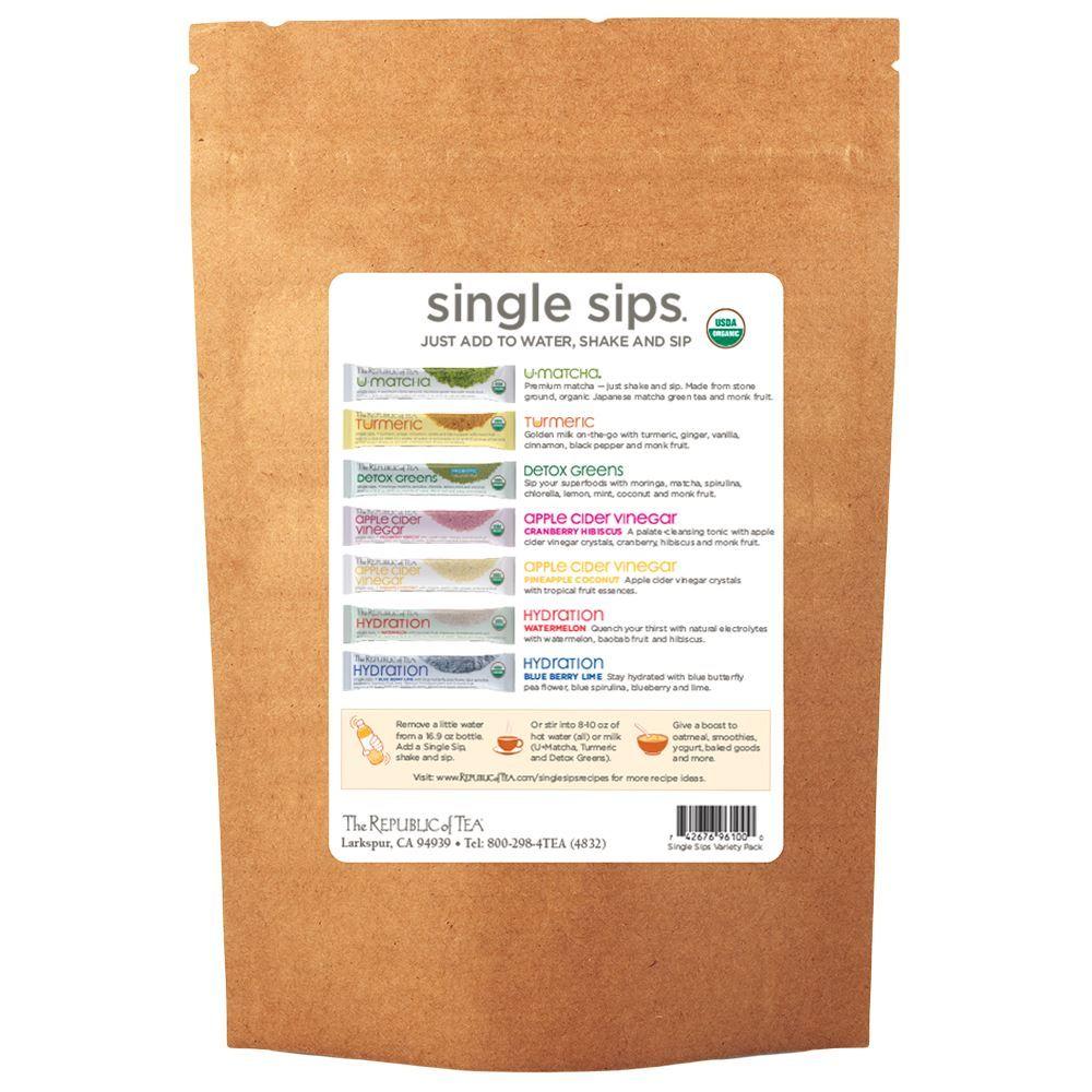 Organic Single Sips® Sampler