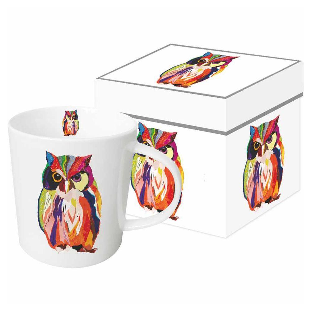Whimsical Owl Boxed Mug