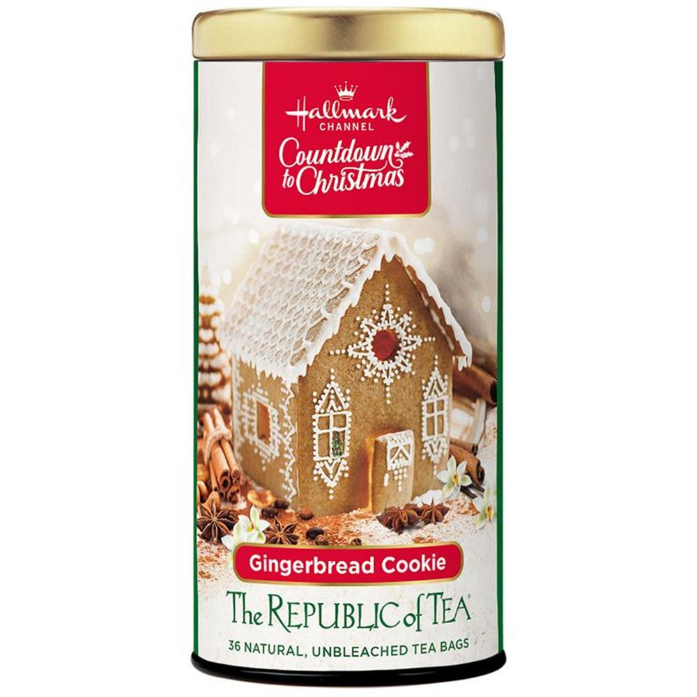 Gingerbread Cookie Tea Bags - Hallmark Channel Countdown to Christmas